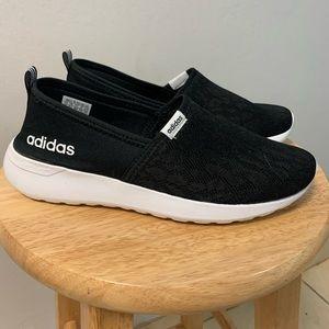 Women's Adidas Memory Foam footbed in Black